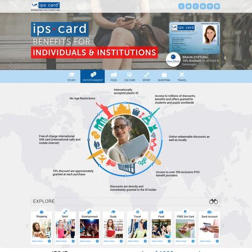 IPS Student Card Design