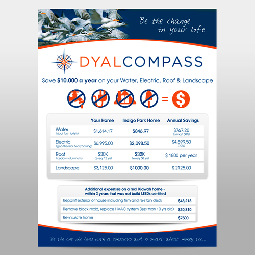 DYAL COMPASS Flyer Design