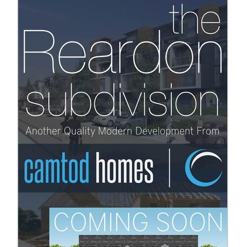 Real Estate Development Signage