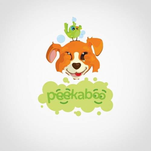 Logo for baby and kids shampoo and wash