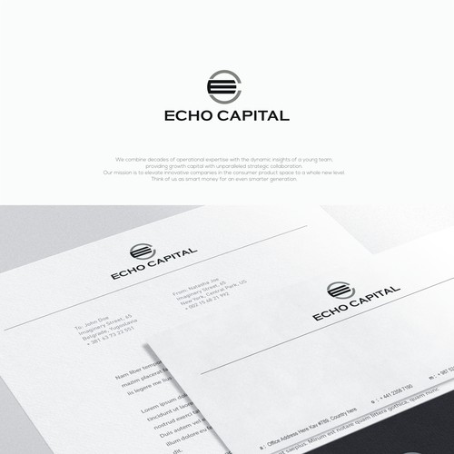 Build a brand for a private investment company