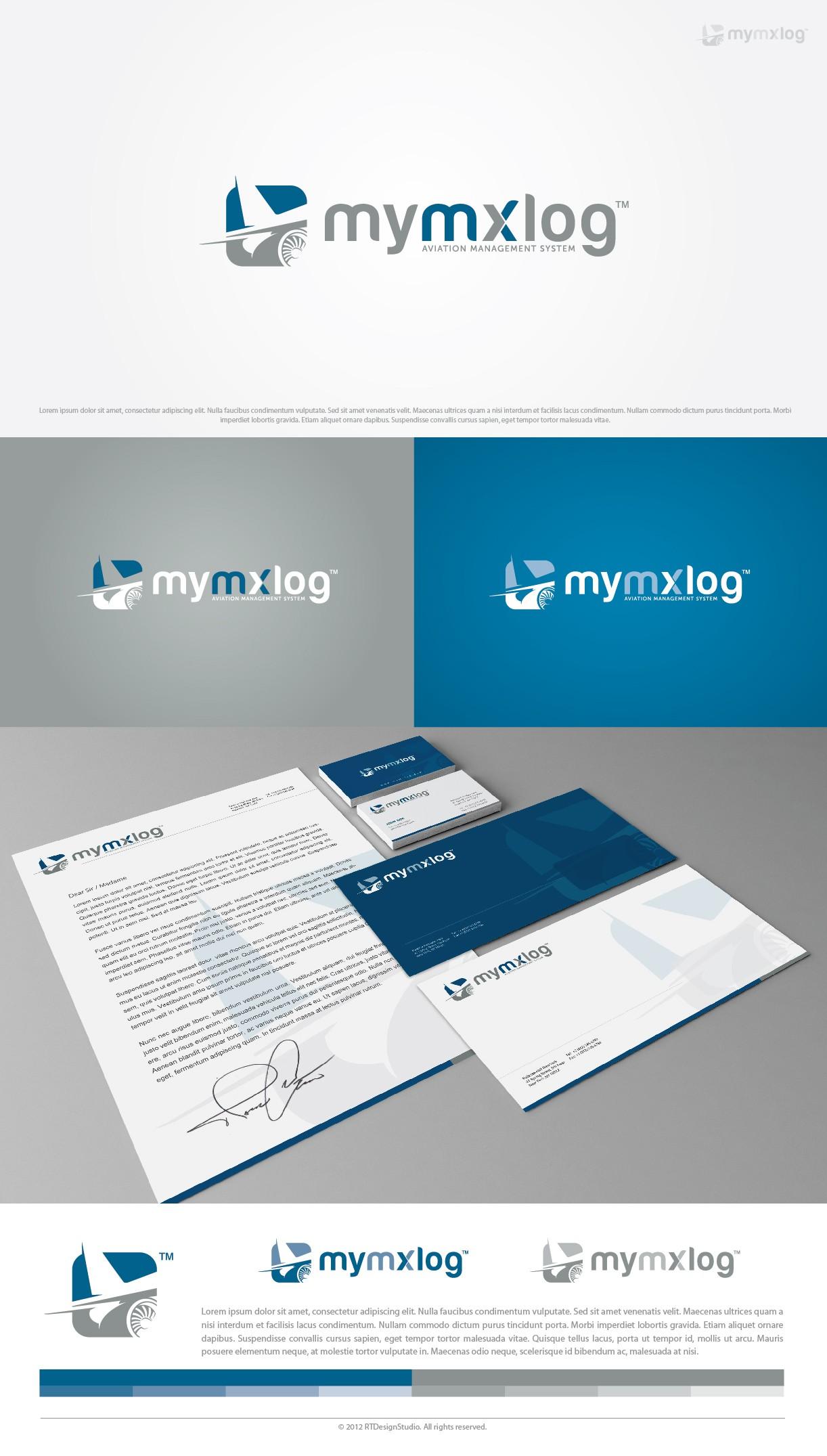 Logo for mymxlog.com - Service for Aviation Professionals