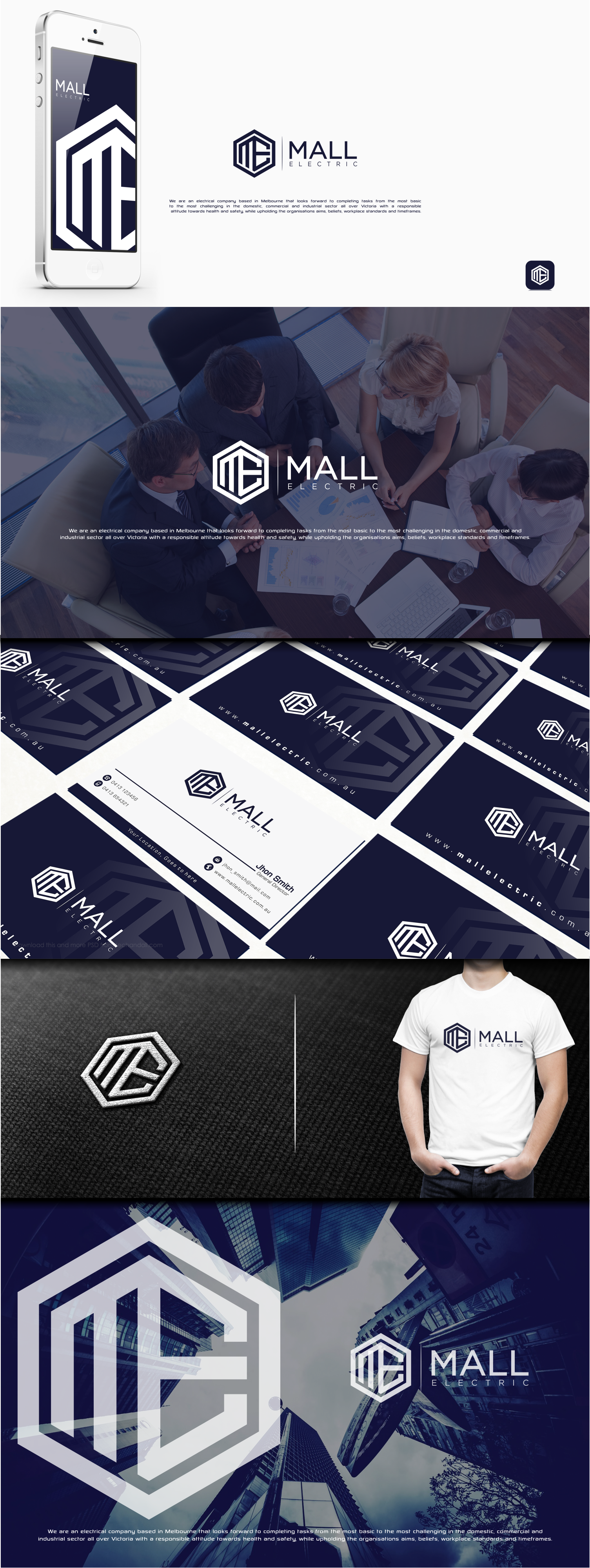 Create an exciting logo and brand identity for our business.