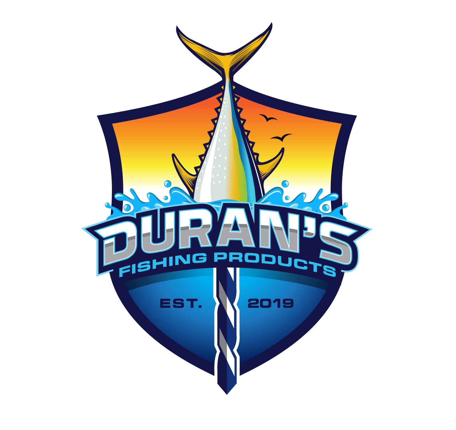 Fish need a logo too!! Duran's Fishing Products