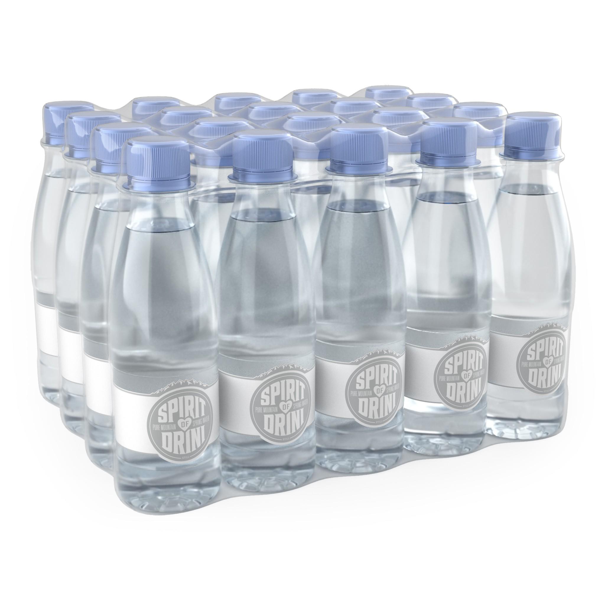 0.25L & 1.5L PET Bottle Illustrations