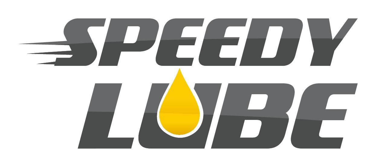 Speedy Lube Logo Design for Bulk Oil Supply Service