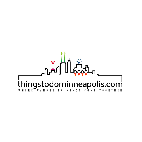 Enticing logo for our website which is for Minneapolis destinations and events