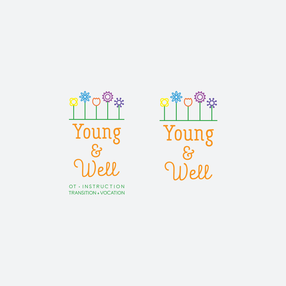 We're rebranding! Create a logo for the Young and Well!