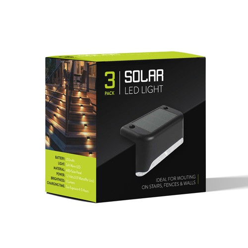 Solar Light Packaging