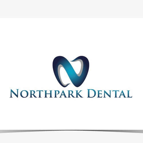 Contemporary logo design for multi-doctor dental practice.