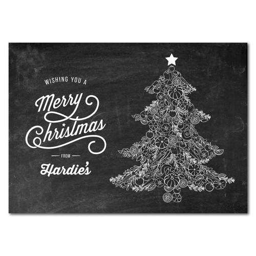 Christmas Card for Fresh Food Service