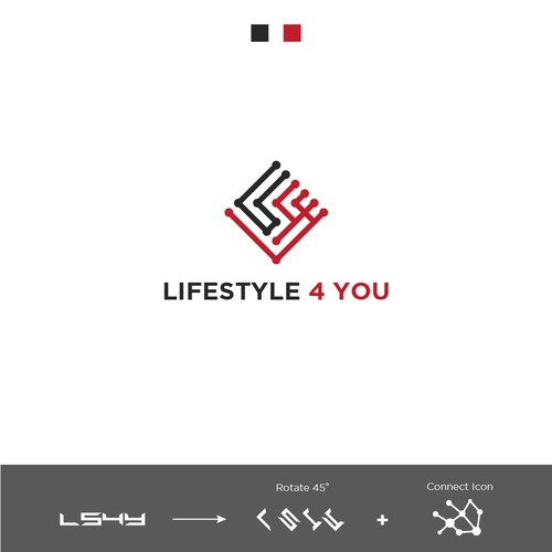 Logo Concept for LS4U (Life Style for You)