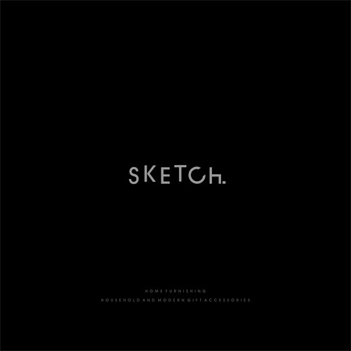 clean logo for sketch