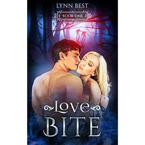 Book cover design for Love bite