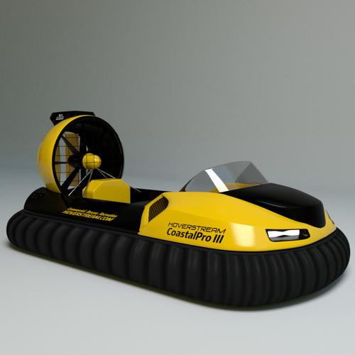 Hover boat design concept