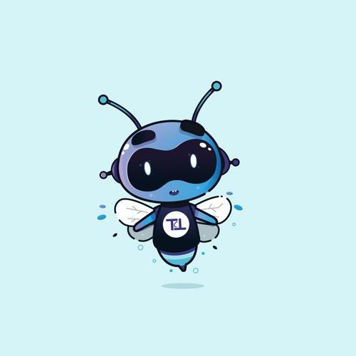 bee robot character