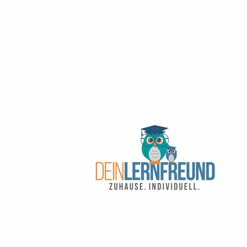 Logo concept for education