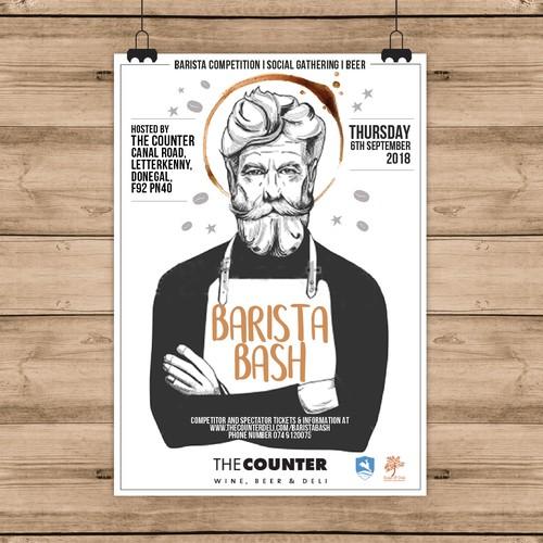 Poster barista