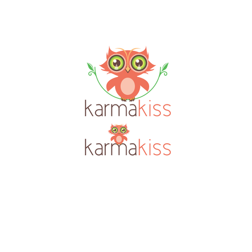 Create the next logo for Karma Kiss