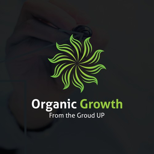 Organic Growth logo concept