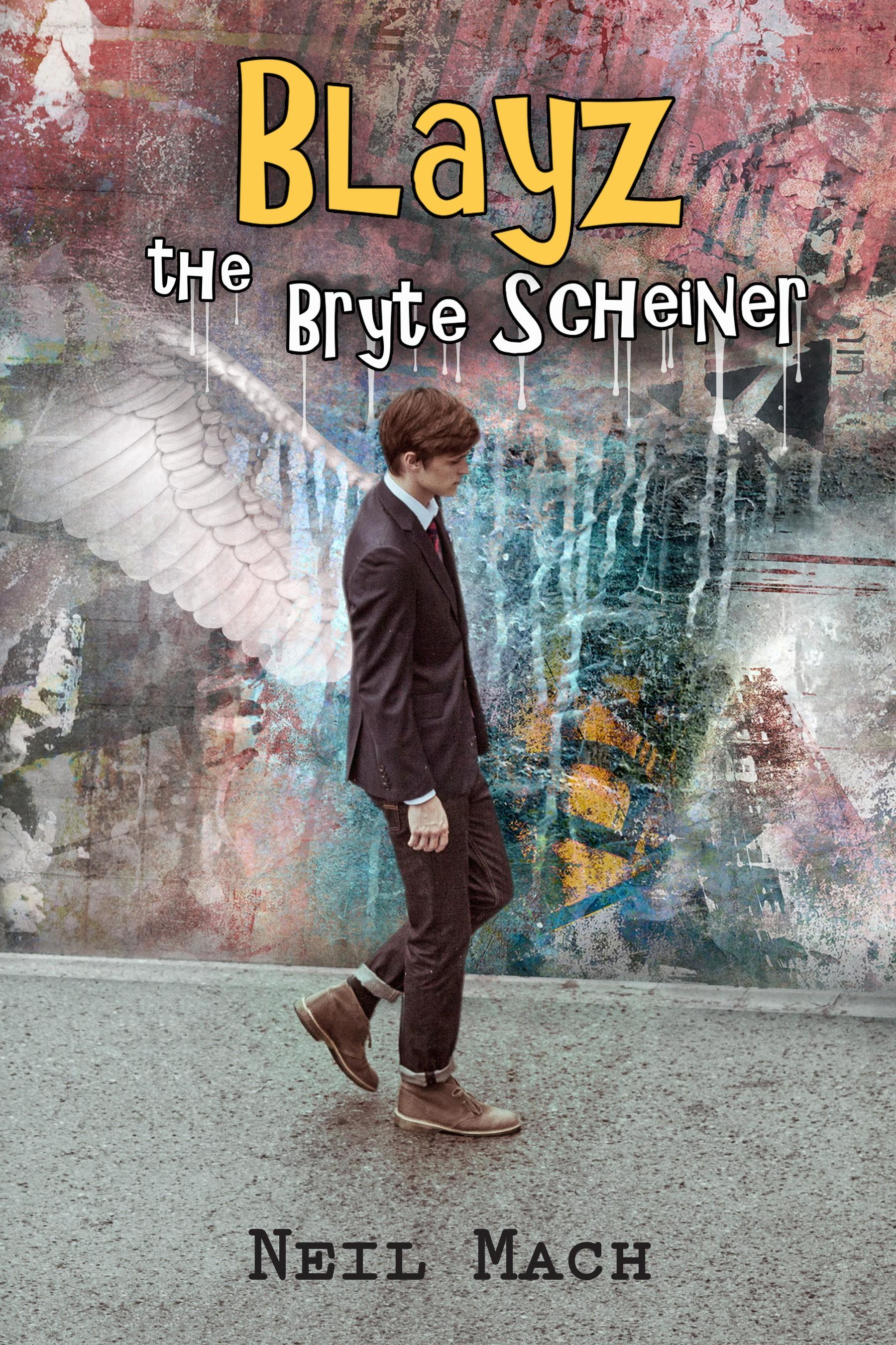 Create a Book Cover for Blayz the Bryte Scheiner