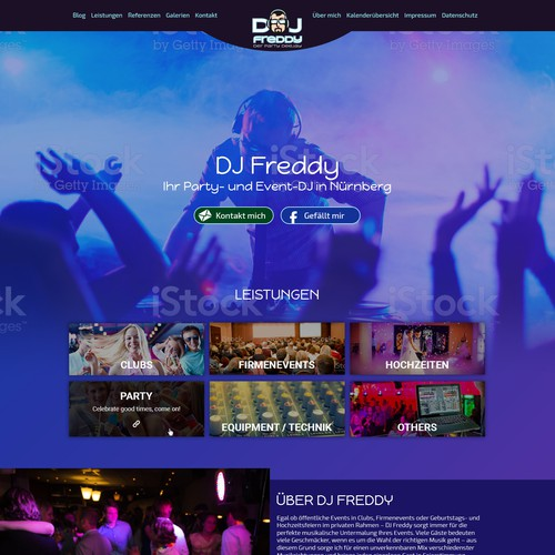 DJ Freddy - Website-Fresh-Up