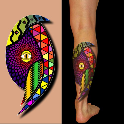pattern tatto design