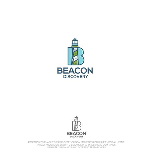 Beacon Discovery line art logo 2