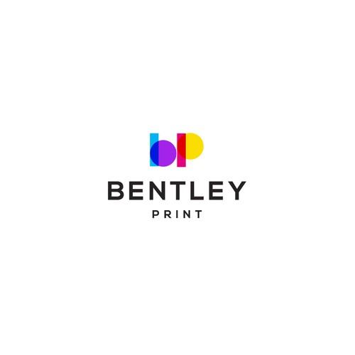 Printing company monogram