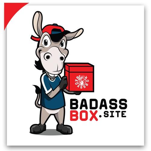 BADASSBOX.SITE MASCOT LOGO CONCEPT