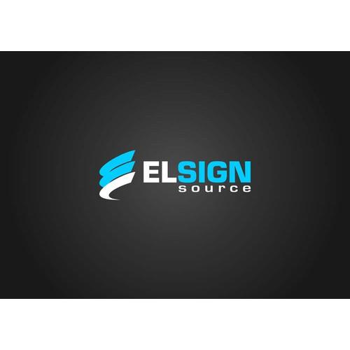 EL Sign Source needs a new logo