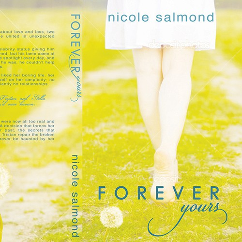 Nicole Salmond needs a new book cover!