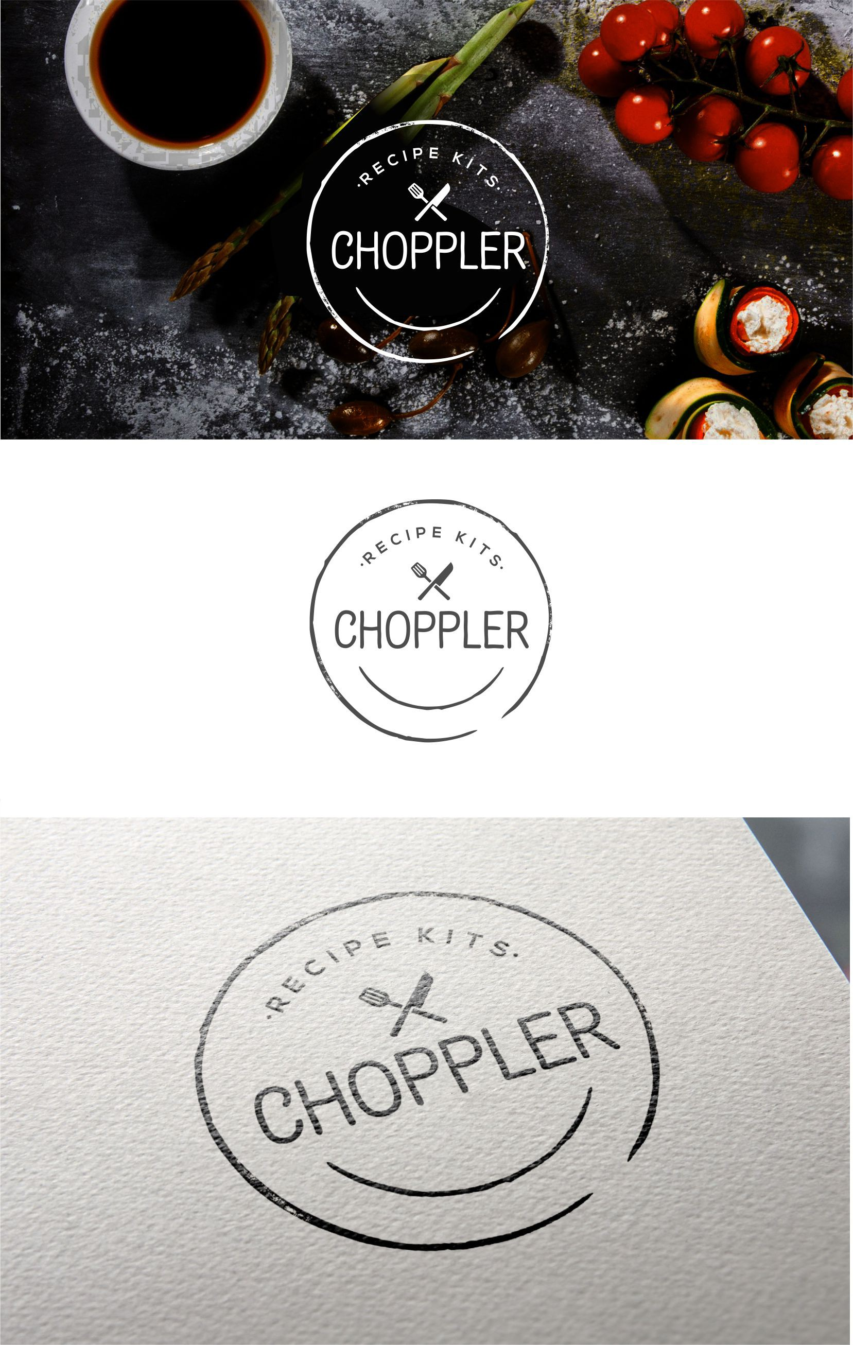 CHOPPLER is recipe kits done right, and we need a new logo!