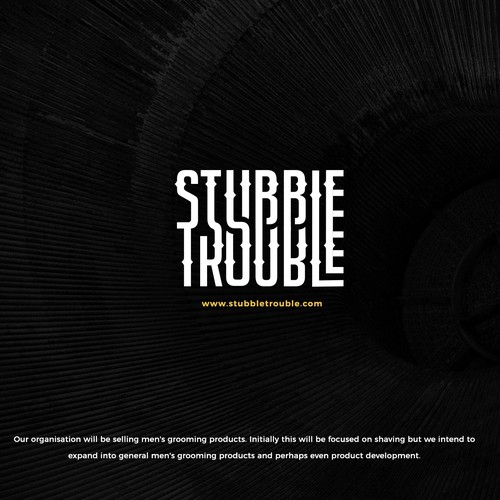 "Identity Branding for ""Stubble Trouble"""