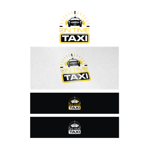 Create a taxi app logo launching in Las Vegas first