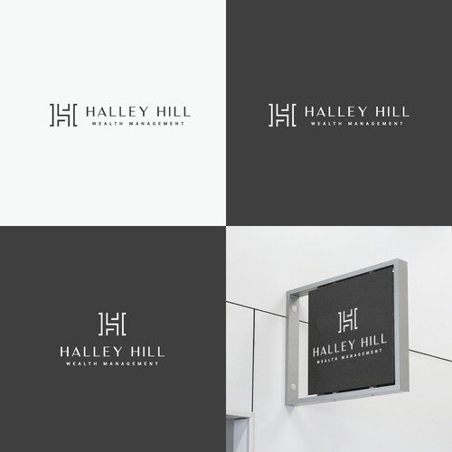 Logo concept for legal office