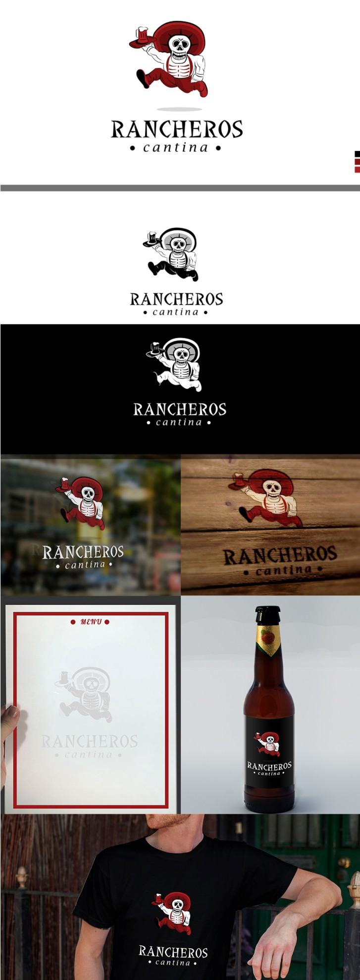 Create a modern, fun logo for a new latin american restaurant