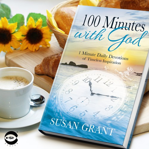 "Book cover for ""100 Minutes with God"" by Susan Grant"