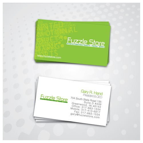 Two Sided Business Card that attracts attention