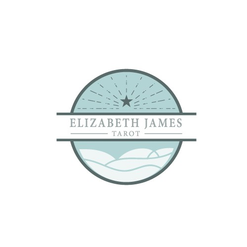 logo for elizabeth james tarot