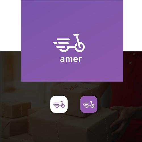 Amer (Delivery) Logo