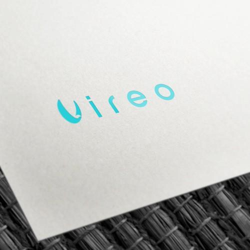 Letter V Bird Shape