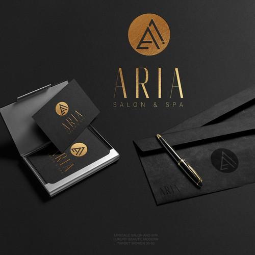 design a logo for a upscale salon and spa