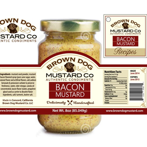 BROWN DOG MUSTARD CO
