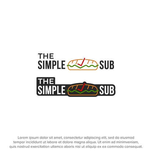 Logo concept for a sandwich restaurant