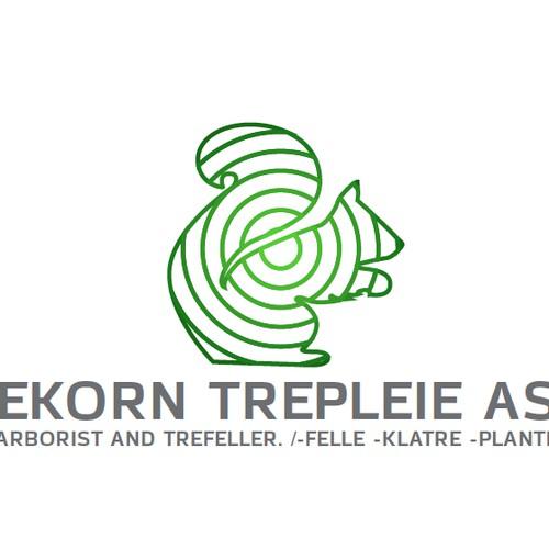 morden logo for tree surgeon