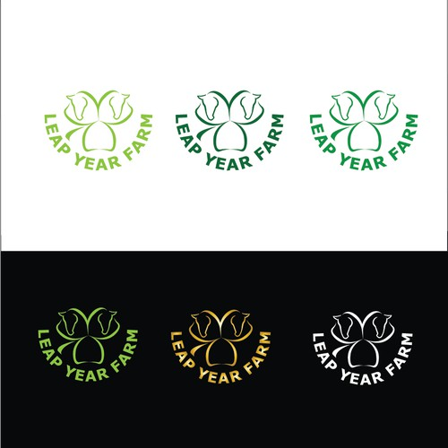 Logo concept for horse farm.
