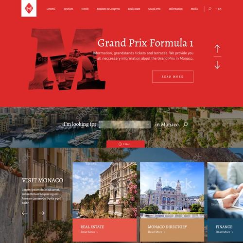 Website for Monaco/ Monte Carlo