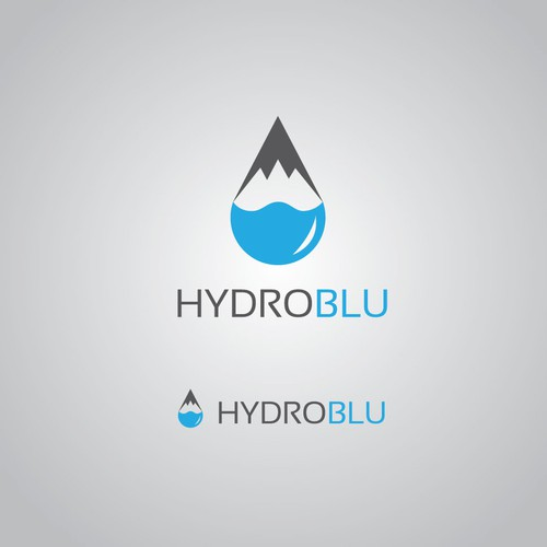 Camping water filter company logo