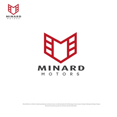 A M like shield concept for Minard Motors